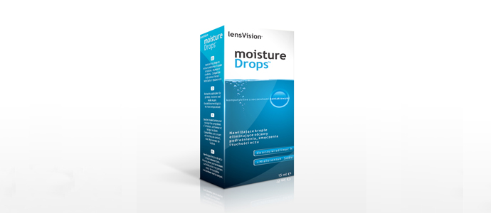 LensVision moisture-drops